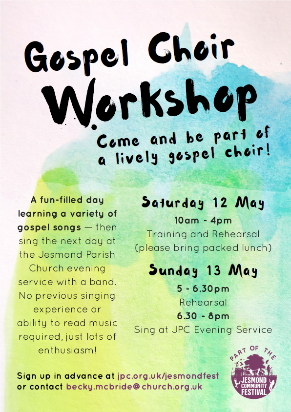 Gospel choir workshop 2018