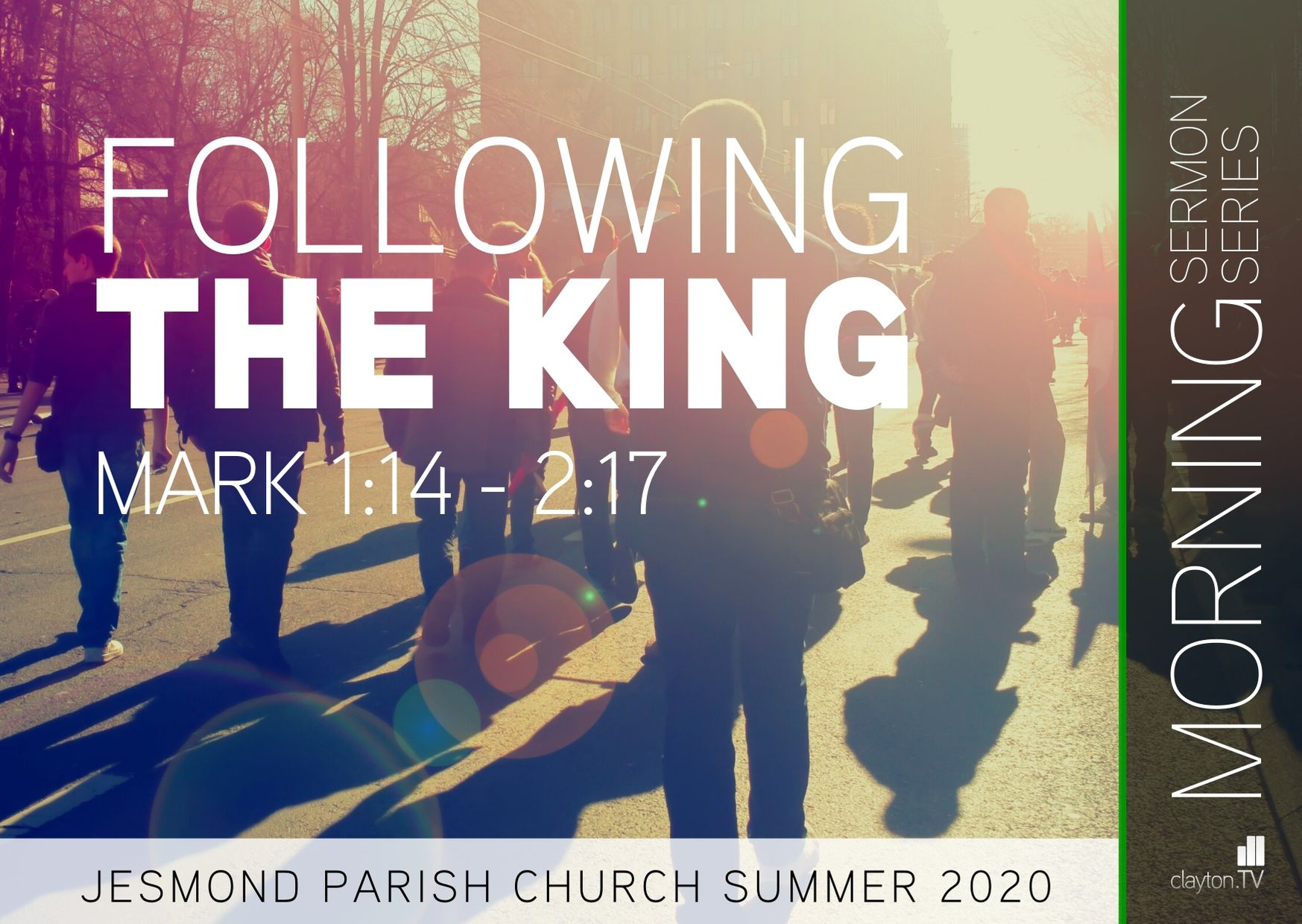 Sermon Series 2020 May-June AM