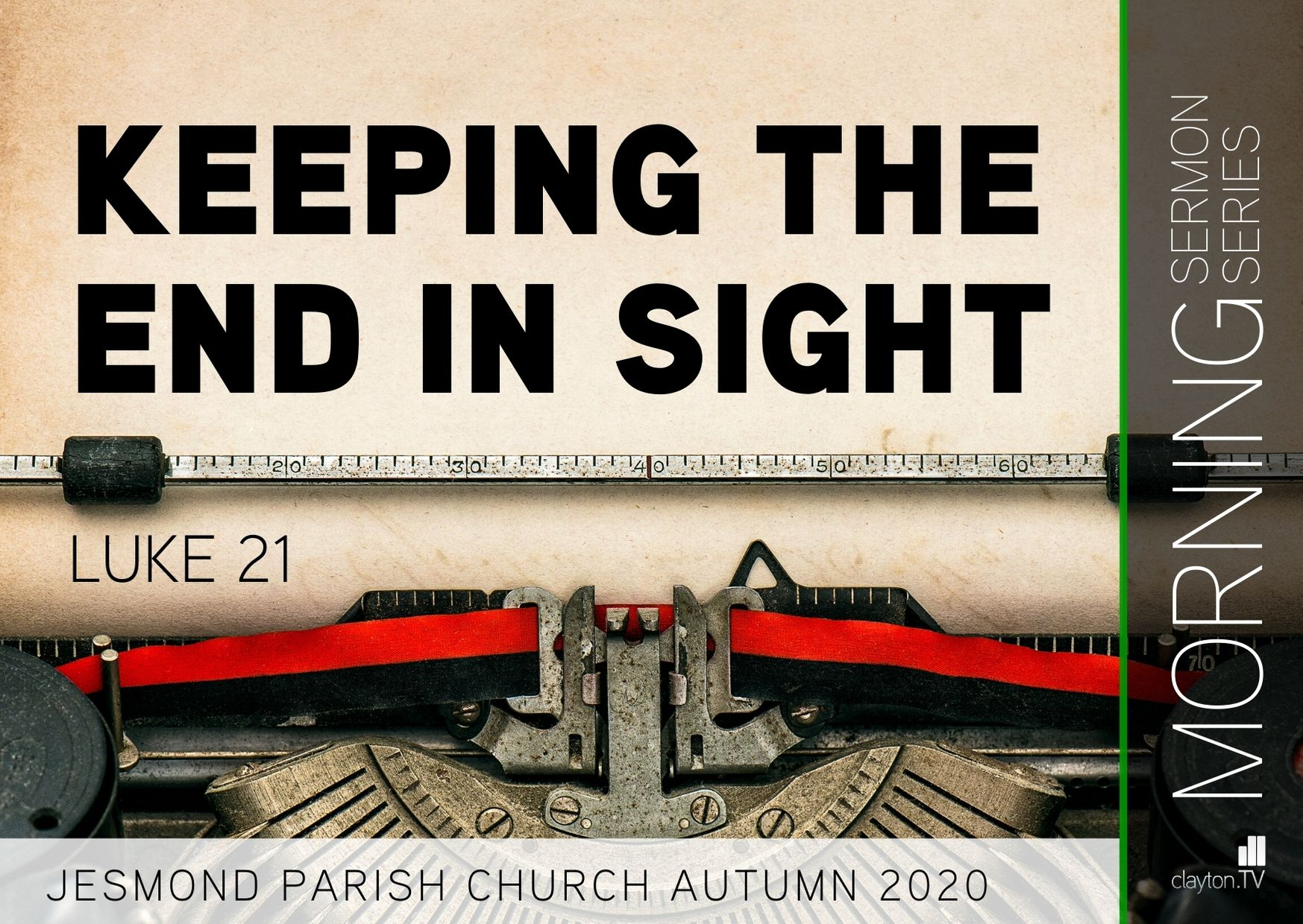 Sermon Series 2020 Nov AM
