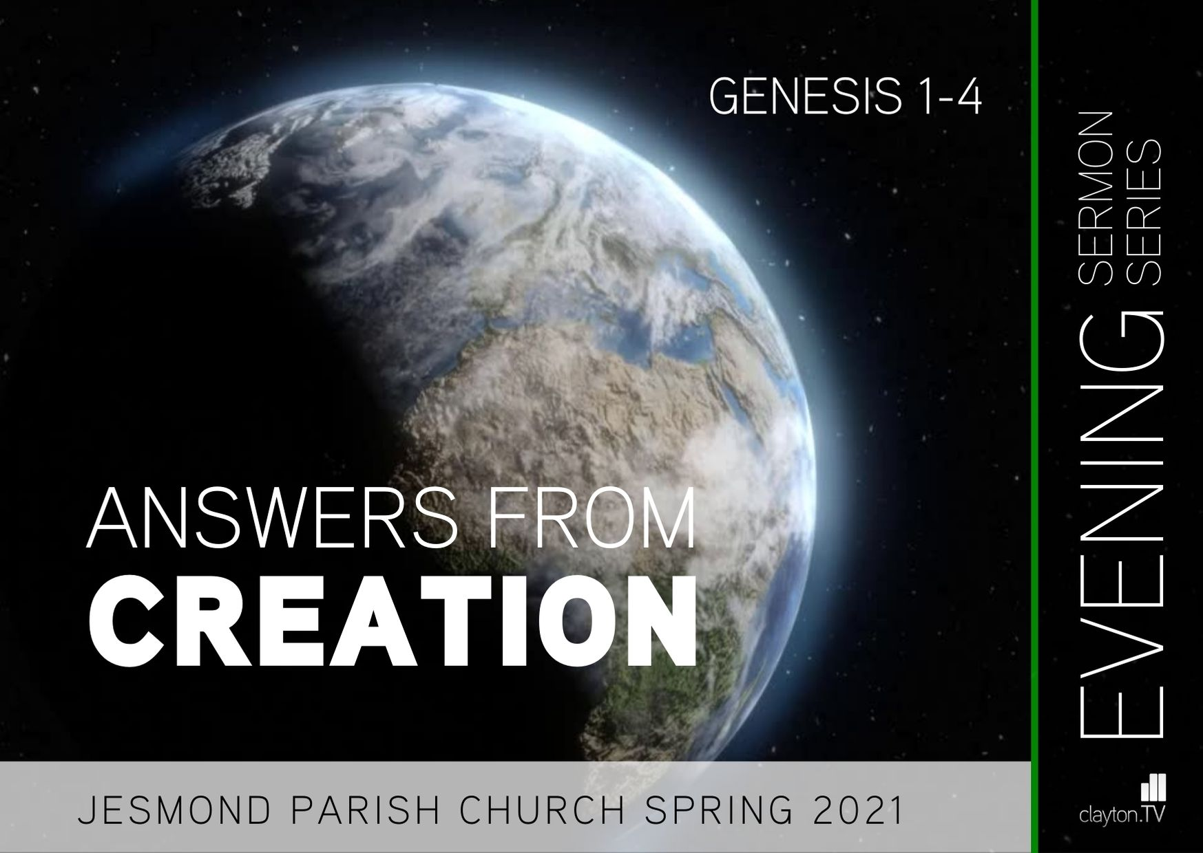 Sermon Series 2021 Jan PM