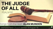Preview Image for: Psalm 50 - The Judge of All - JPC Sermon