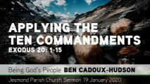 Preview Image for: Exodus 20: 1-11 - Applying the Ten Commandments - Jesmond Parish Church, Newcast